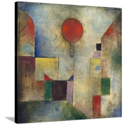 Red balloon-Paul Klee-Stretched Canvas Print
