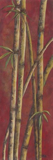 Red Bamboo I-Patricia Pinto-Art Print