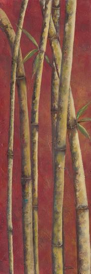 Red Bamboo II-Patricia Pinto-Art Print