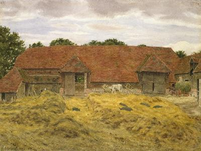 Red Barn at Whitchurch, 1868-George Price Boyce-Giclee Print