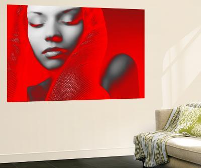 Red Beauty-NaxArt-Wall Mural