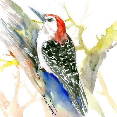 Red Bellied Woodpecker-Suren Nersisyan-Art Print