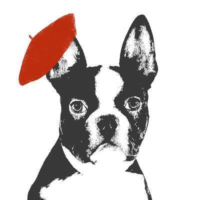 Red Beret Dog-Sd Graphics Studio-Art Print