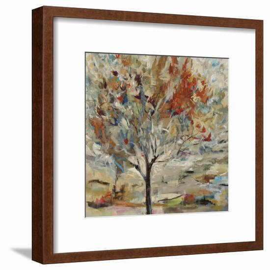Red Bird Tree-Jodi Maas-Framed Giclee Print