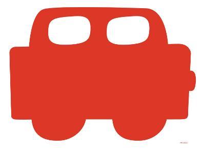 Red Car-Avalisa-Art Print