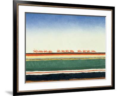 Red Cavalry, 1928-32-Kasimir Malevich-Framed Art Print