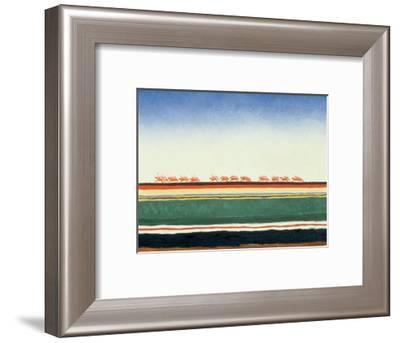 Red Cavalry, 1928-32-Kasimir Malevich-Framed Giclee Print