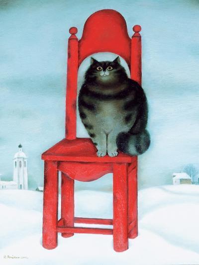Red Chair, 1995-David Khaikin-Giclee Print