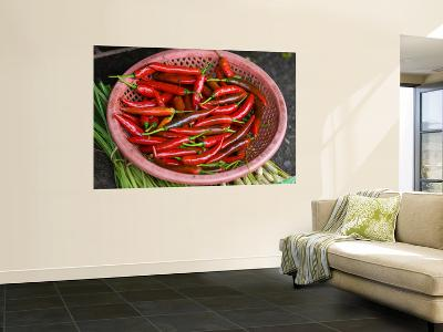 Red Chilli Peppers-Tony Burns-Wall Mural