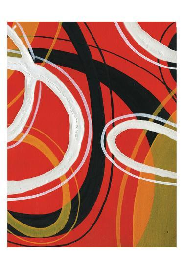 Red Circles-A Ruiz-Art Print