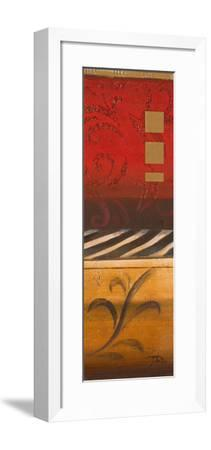 Red Collage I-Patricia Pinto-Framed Premium Giclee Print