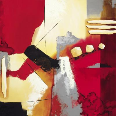 Red Composition II-Krimm-Art Print