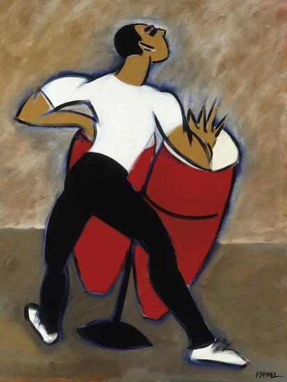 Red Congas-Marsha Hammel-Giclee Print