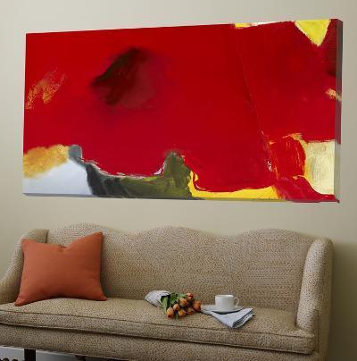 Red Coquelicot-Diane Lambin-Loft Art