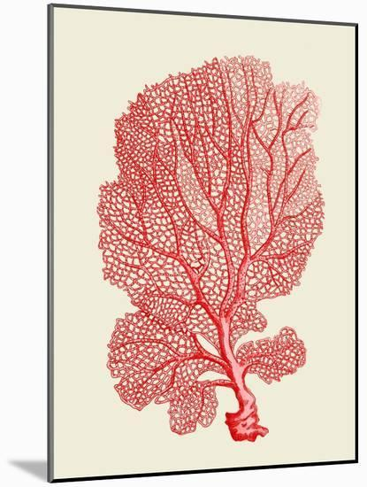 Red Corals 1 b-Fab Funky-Mounted Art Print