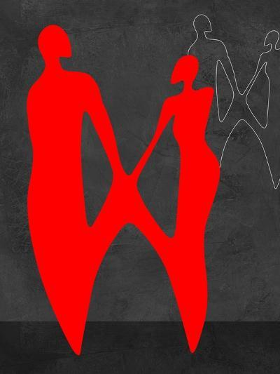 Red Couple 2-Felix Podgurski-Art Print