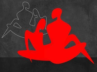 Red Couple 3-Felix Podgurski-Art Print