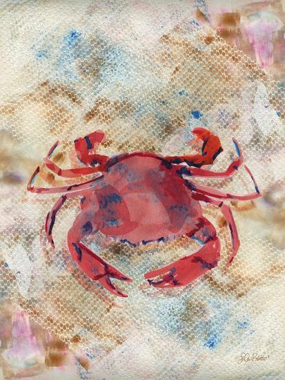 Red Crab-LuAnn Roberto-Art Print