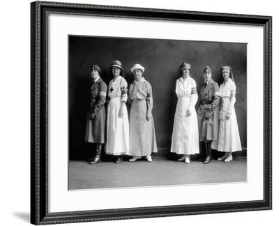 Red Cross Corps, C1920--Framed Photographic Print