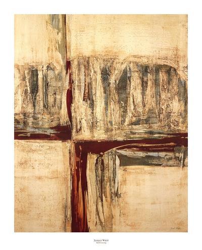 Red Crossing-Sarah West-Art Print