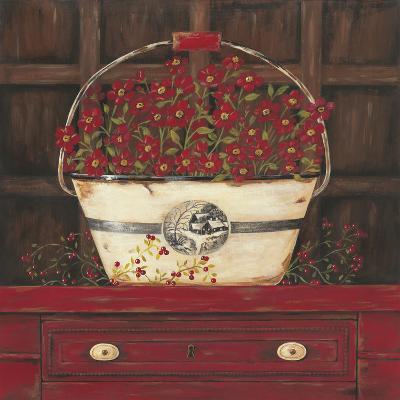 Red Cupboard II-Jo Moulton-Art Print