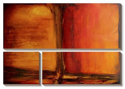 Red Dawn I-Erin Ashley-Canvas Art Set