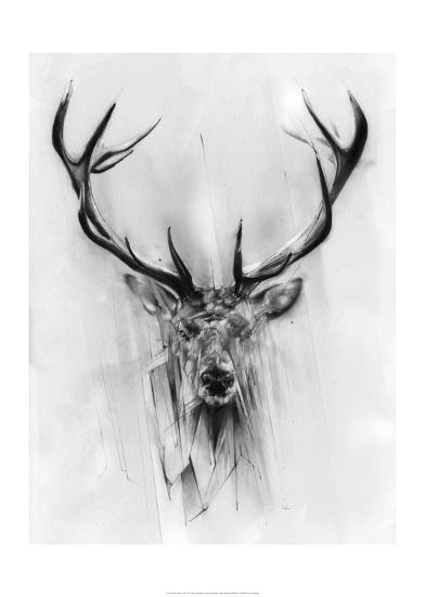 Red Deer-Alexis Marcou-Art Print