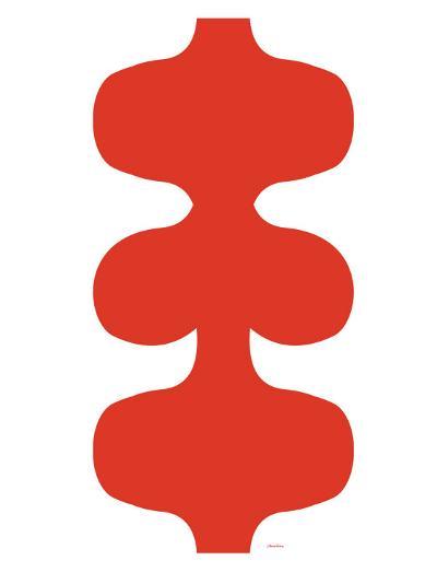 Red Design, no. 115-Avalisa-Art Print