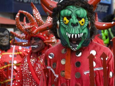 Red Devil, Fort-De-France, Martinique, French Antilles, West Indies-Scott T^ Smith-Photographic Print