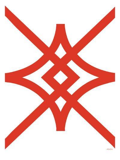Red Diamond-Avalisa-Art Print