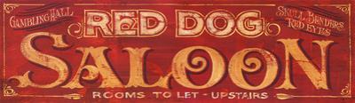 Red Dog Saloon Vintage