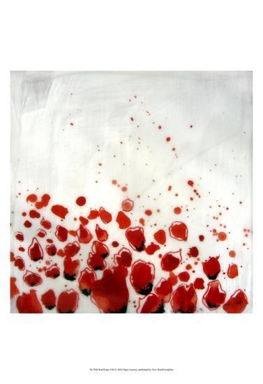 Red Drops VIII--Art Print