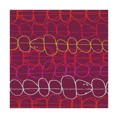 Red Fall IV-Ali Benyon-Art Print
