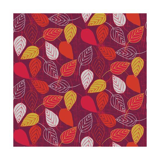 Red Fall VII-Ali Benyon-Art Print