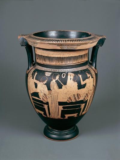 Red-Figure Pottery, Attic Vase, 5th Century B.C.--Giclee Print