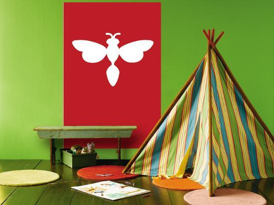 Red Firefly-Avalisa-Wall Mural