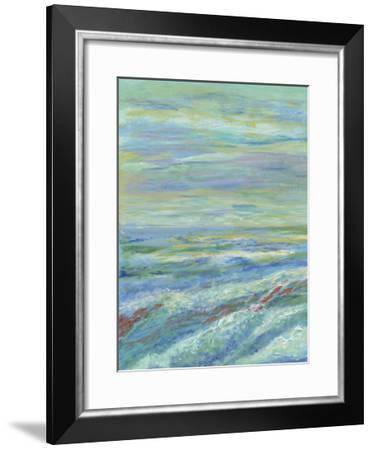 Red Fish I-Olivia Brewington-Framed Art Print