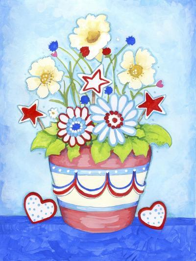 Red Flower Pot-Valarie Wade-Giclee Print