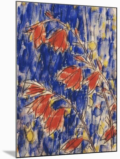 Red Flowers-Christian Rohlfs-Mounted Giclee Print