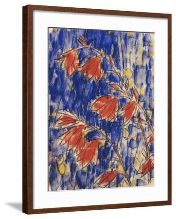 Red Flowers-Christian Rohlfs-Framed Giclee Print