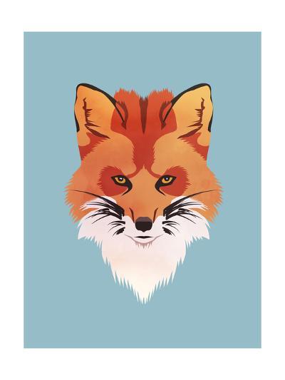 Red Fox-Meagan Jurvis-Art Print