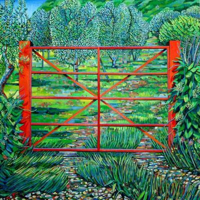 Red Gate, Summer, 2010-Noel Paine-Giclee Print
