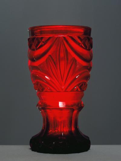 Red Glass by Friedrich Egermann--Giclee Print