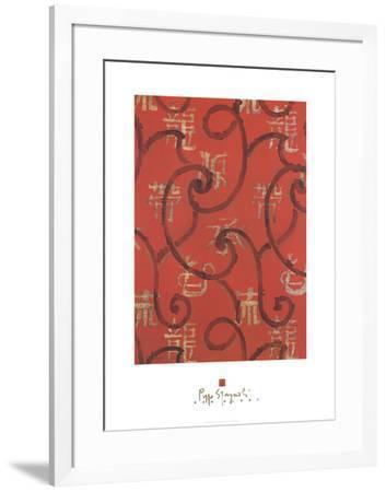 Red Glory-Peppo Spagnoli-Framed Premium Edition