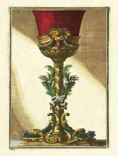Red Goblet II-Giovanni Giardini-Art Print