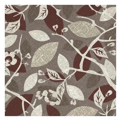 Red Gray Fall A-Kristin Emery-Art Print
