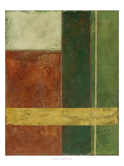 Red, Green, Gold I-Megan Meagher-Art Print