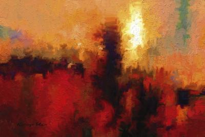 Red Ground-Kanayo Ede-Giclee Print