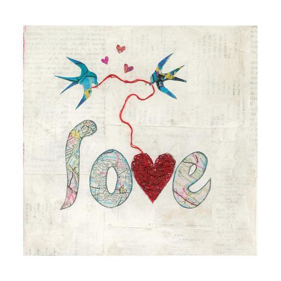 Red Heart-Courtney Prahl-Art Print
