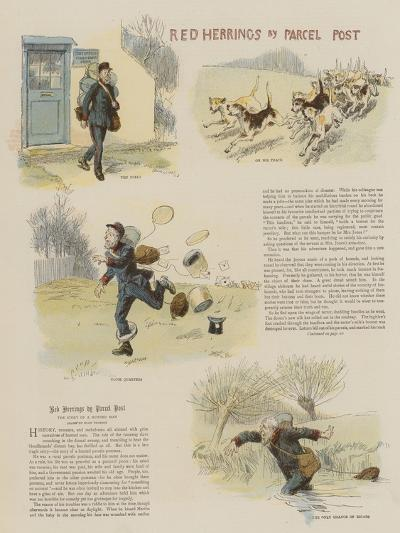 Red Herrings by Parcel Post-Hugh Thomson-Giclee Print
